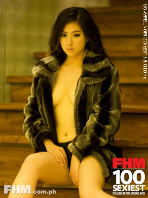 132 eula valdez on fhm july 2011 the 100 sexiest women